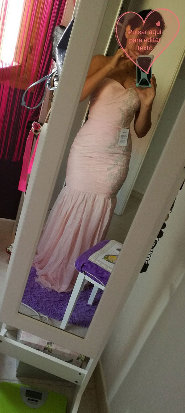 Pink One Shoulder Mermaid Prom Dress