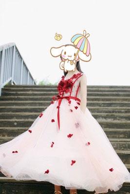 Wedding Flower Girl Dress, Ball Dress for Girls