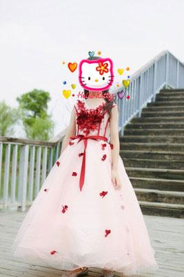 Ball Dress for Little Girl and Wedding Flower Girl