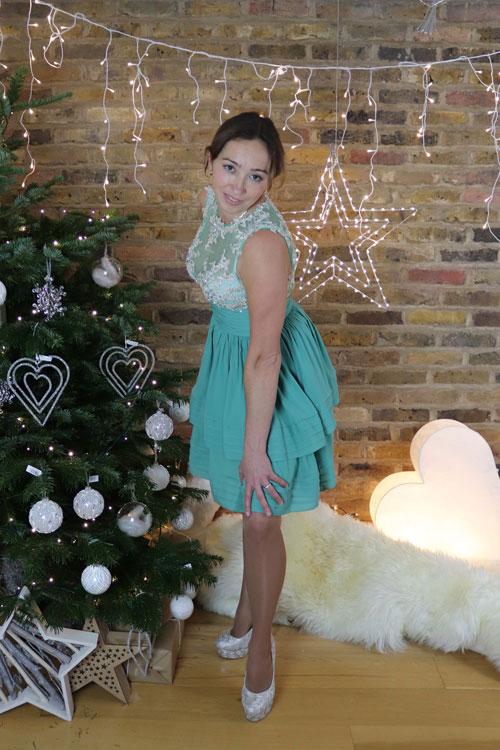 Short Green Prom Dress, Cocktail Dress
