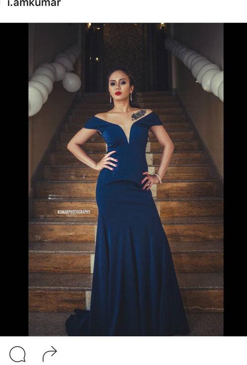 Off the Shoulder Blue Formal Dress Evening Dress