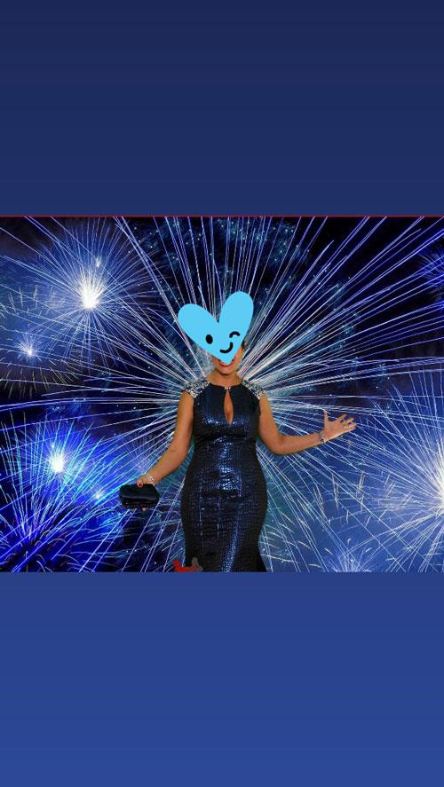 Cap Sleeves Mermaid Blue Prom Dress