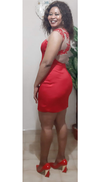 Flattering Short Red Formal Dress