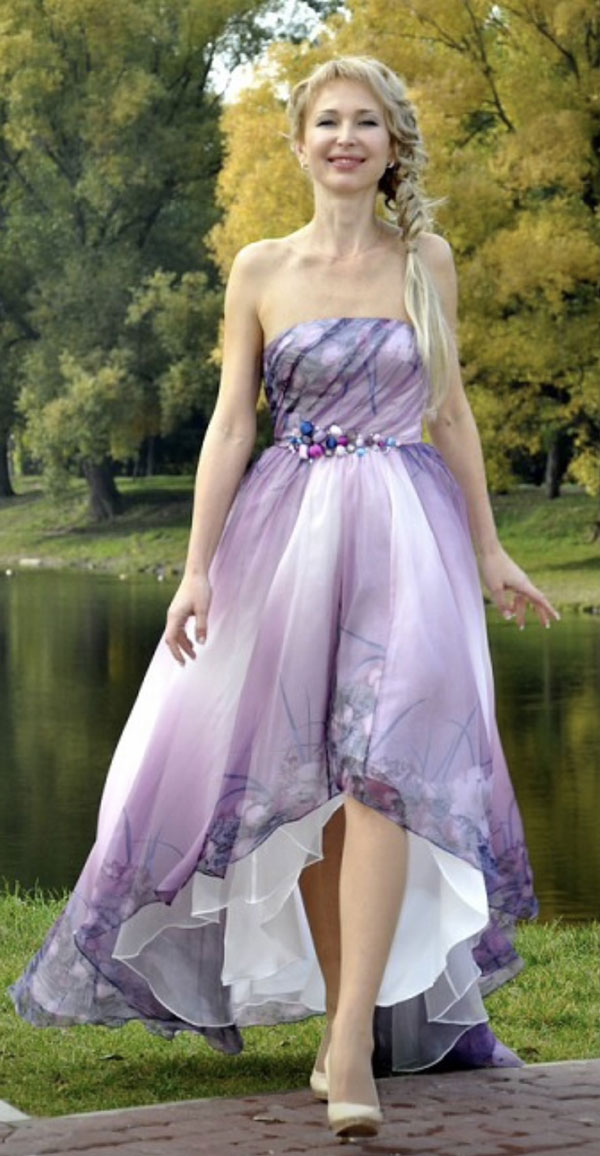 eDressit Floral Partz Evening Dress