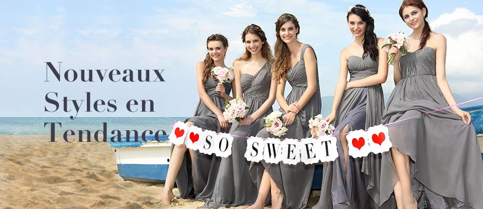 grande remise pour l'achat groupé des robes de demoiselle d'honneur