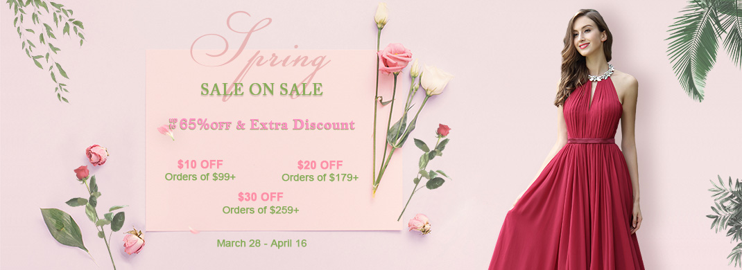 Discounted dresses sale on sale