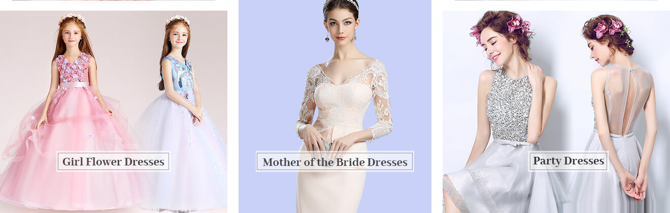 Flower Girl Dresses,Mother of the Bride Dresses,Cocktail/Party Dresses