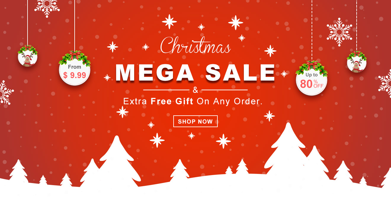 SChristmas Sale From $ 9.99