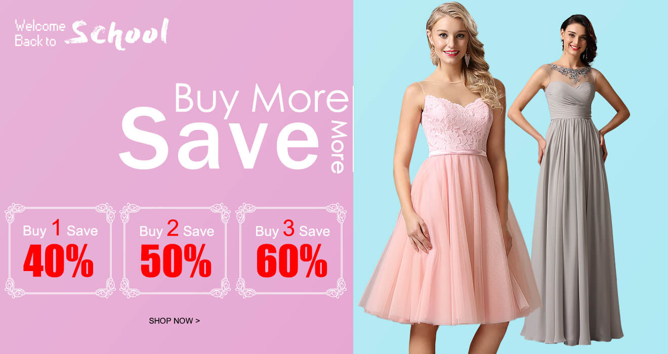 Buy More Save More Up to 60%OFF