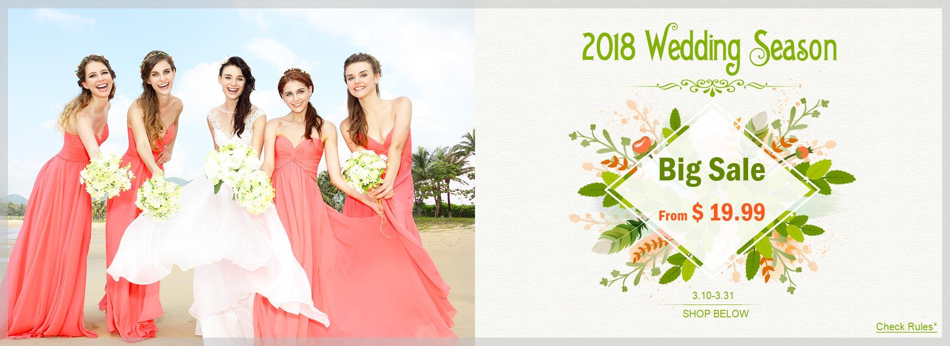 Wedding season sale 2018