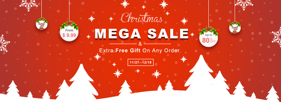 Christmas Sale From $ 9.99