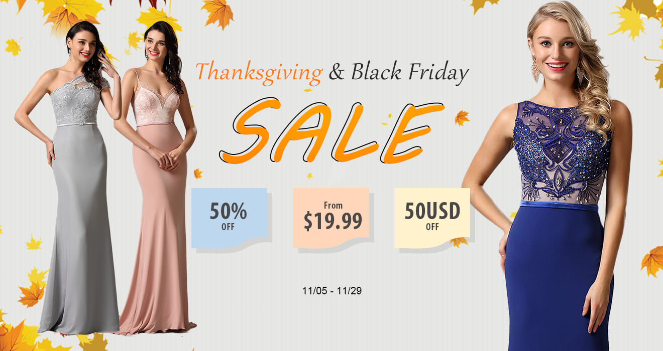 Thanksgiving Sale-- 3 Types of Discounts