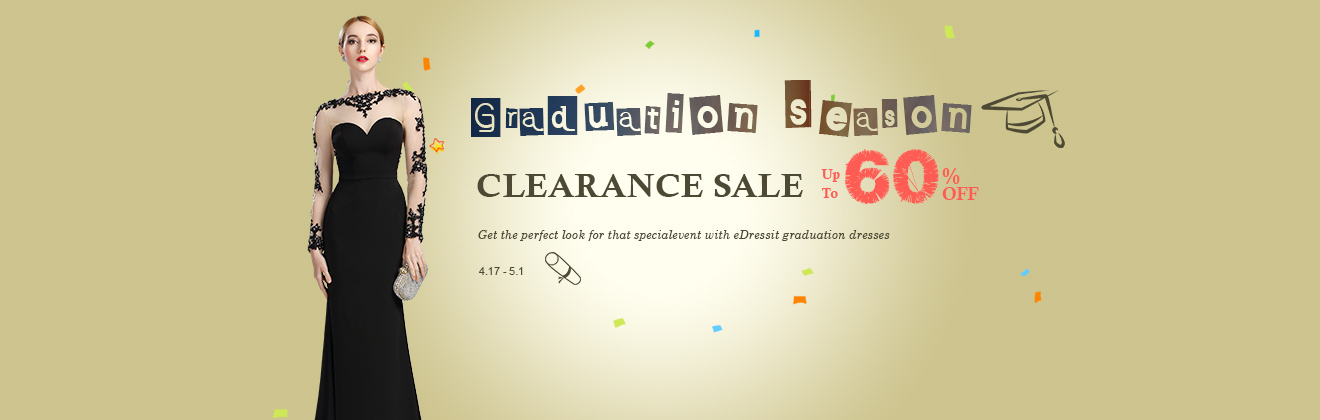 Graduation Clearance Sale  Up To 60%OFF